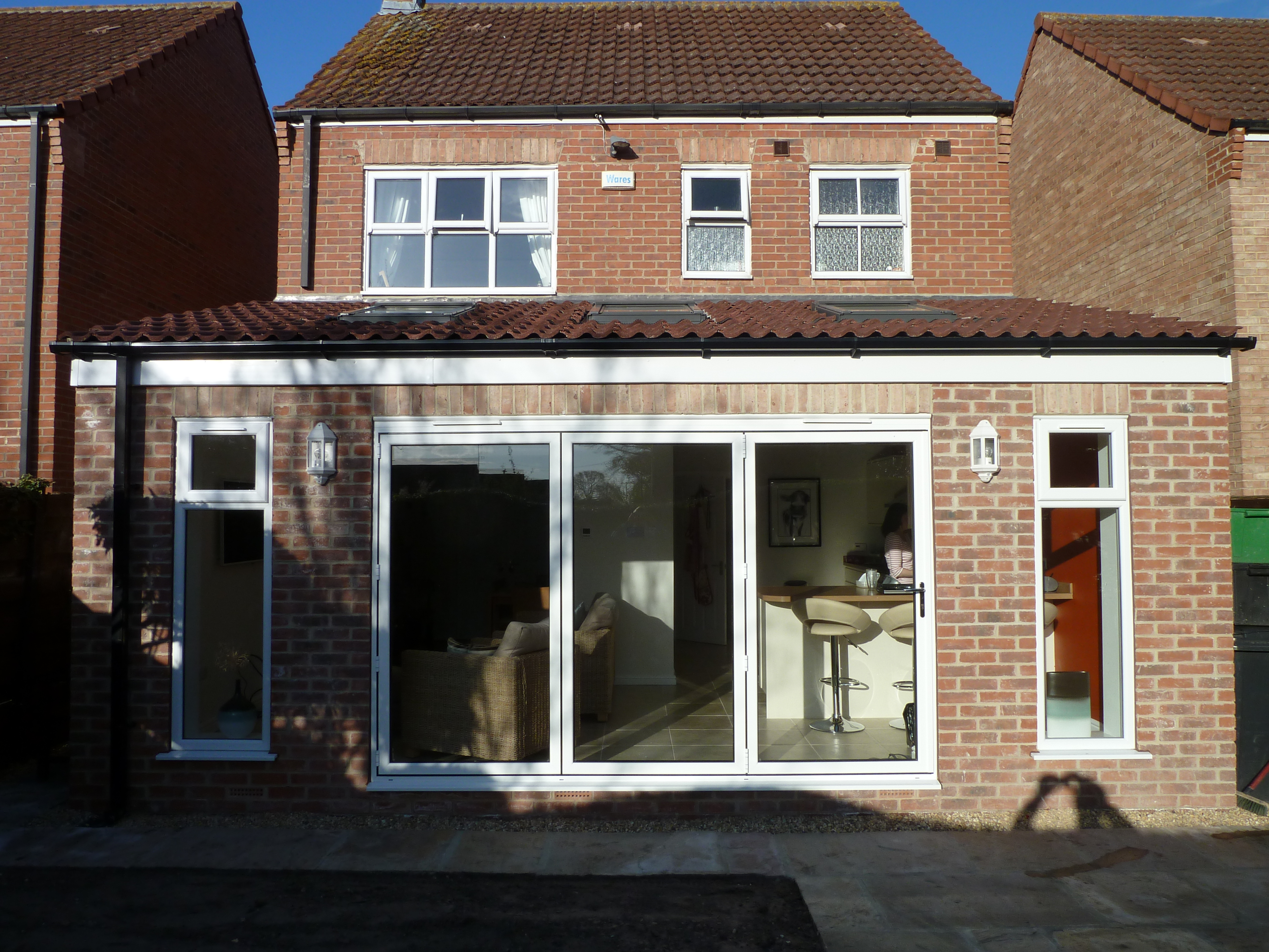 Completion Of Rear Extension At Village Garth York