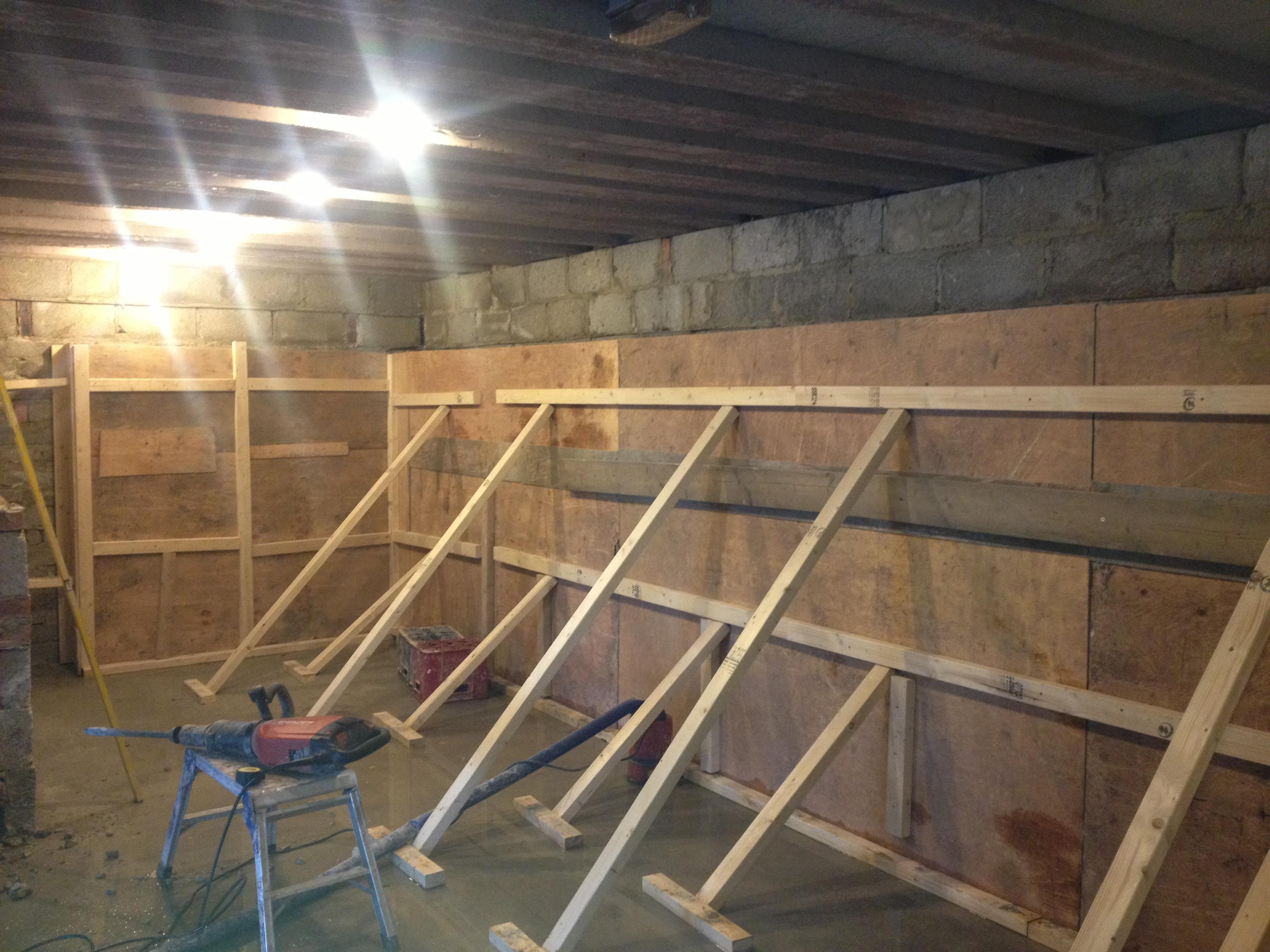 completion of basement conversion at old barber harrogate harrogate